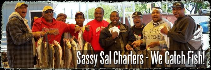 Charter Fishing Lake Erie
